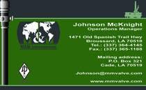 Graphic Design Inscrição do Concurso Nº21 para Business Card Design for M&M International