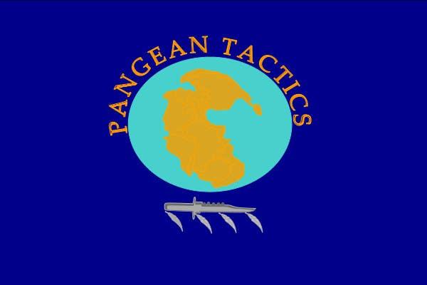 Penyertaan Peraduan #5 untuk Design a Logo for Pangean Tactics