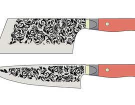vivekdaneapen tarafından I need a Grafik Design to etch on my Kickstarter Knife Series için no 16