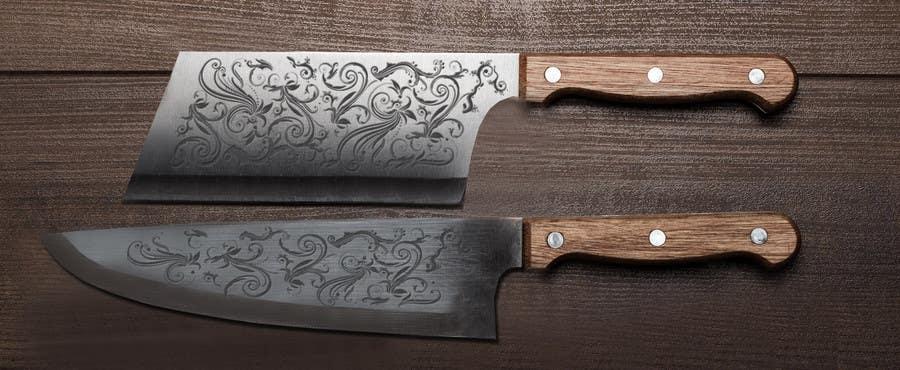 Penyertaan Peraduan #                                        5                                      untuk                                         I need a Grafik Design to etch on my Kickstarter Knife Series
