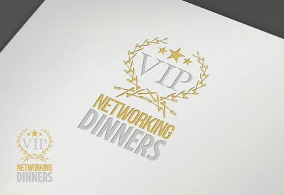 Graphic Design Contest Entry #189 for Design a Logo for Vip networking dinners
