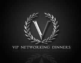 #112 para Design a Logo for Vip networking dinners por helenasdesign