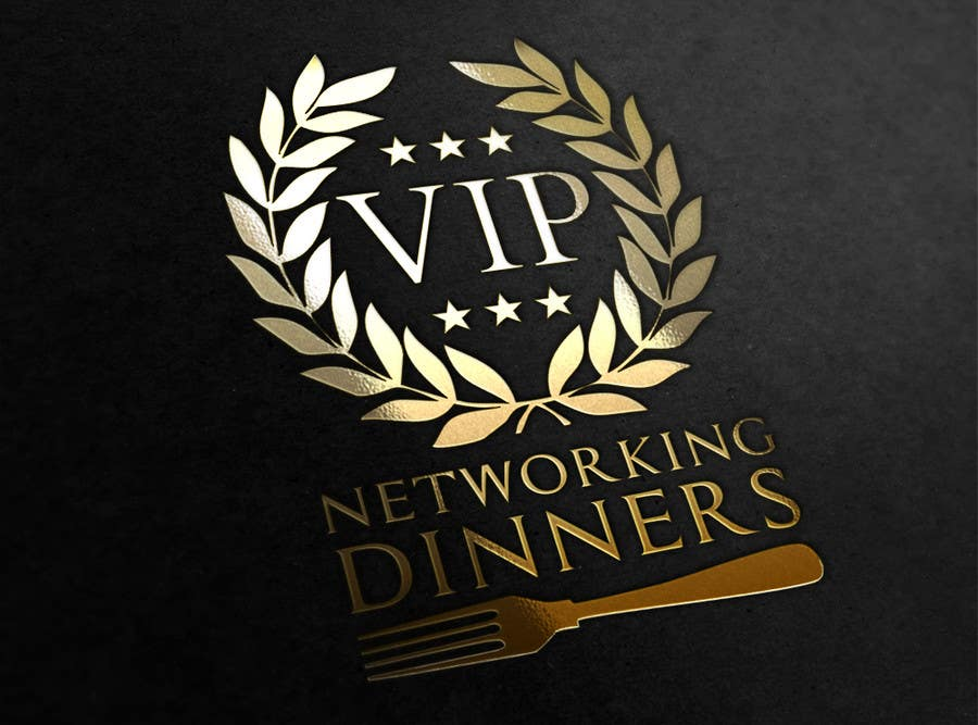 #146 for Design a Logo for Vip networking dinners by helenasdesign