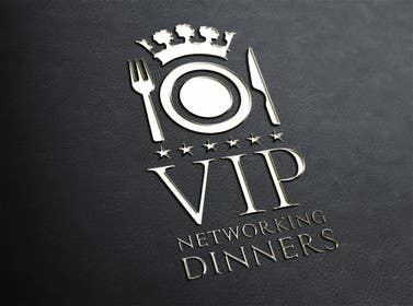 Graphic Design Contest Entry #158 for Design a Logo for Vip networking dinners