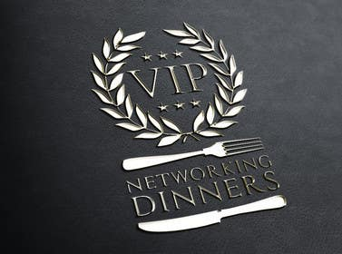 Graphic Design Contest Entry #160 for Design a Logo for Vip networking dinners