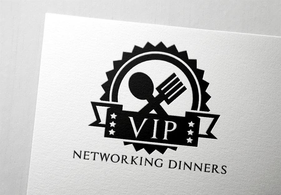 #180 for Design a Logo for Vip networking dinners by helenasdesign