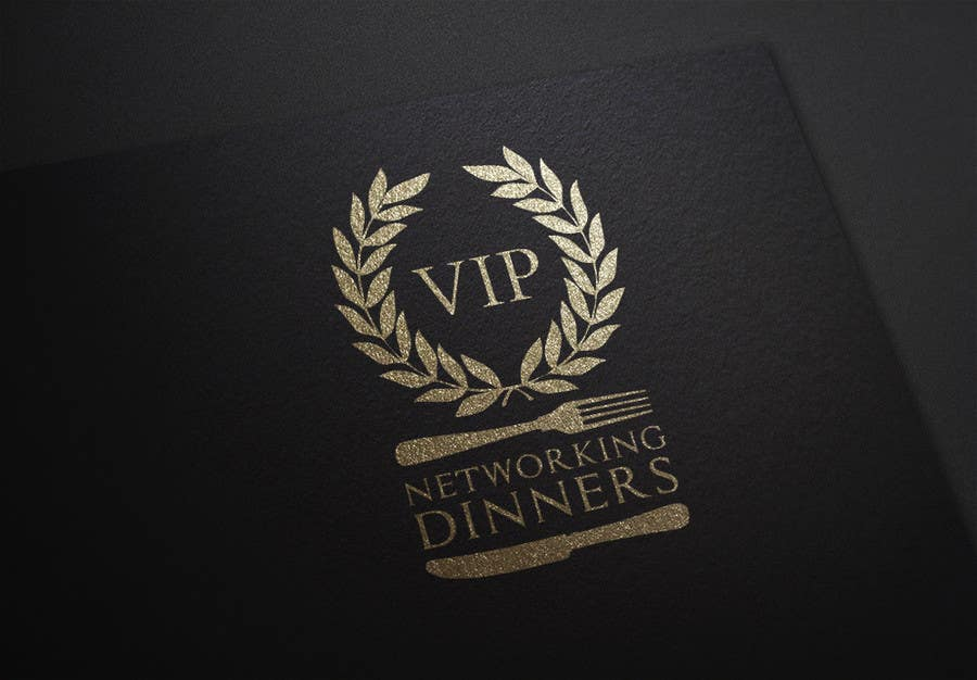 #190 for Design a Logo for Vip networking dinners by helenasdesign