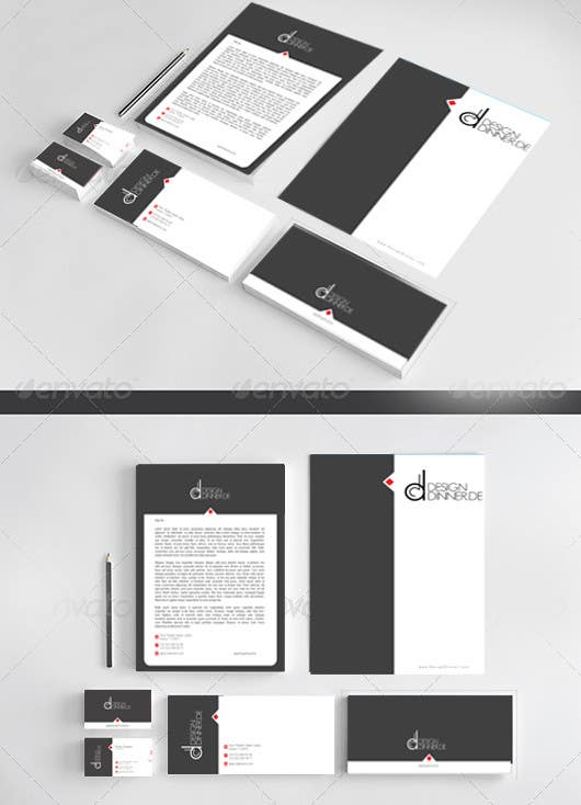 Contest Entry #2 for Create Business set (Paper, Business Cards,..) for Company