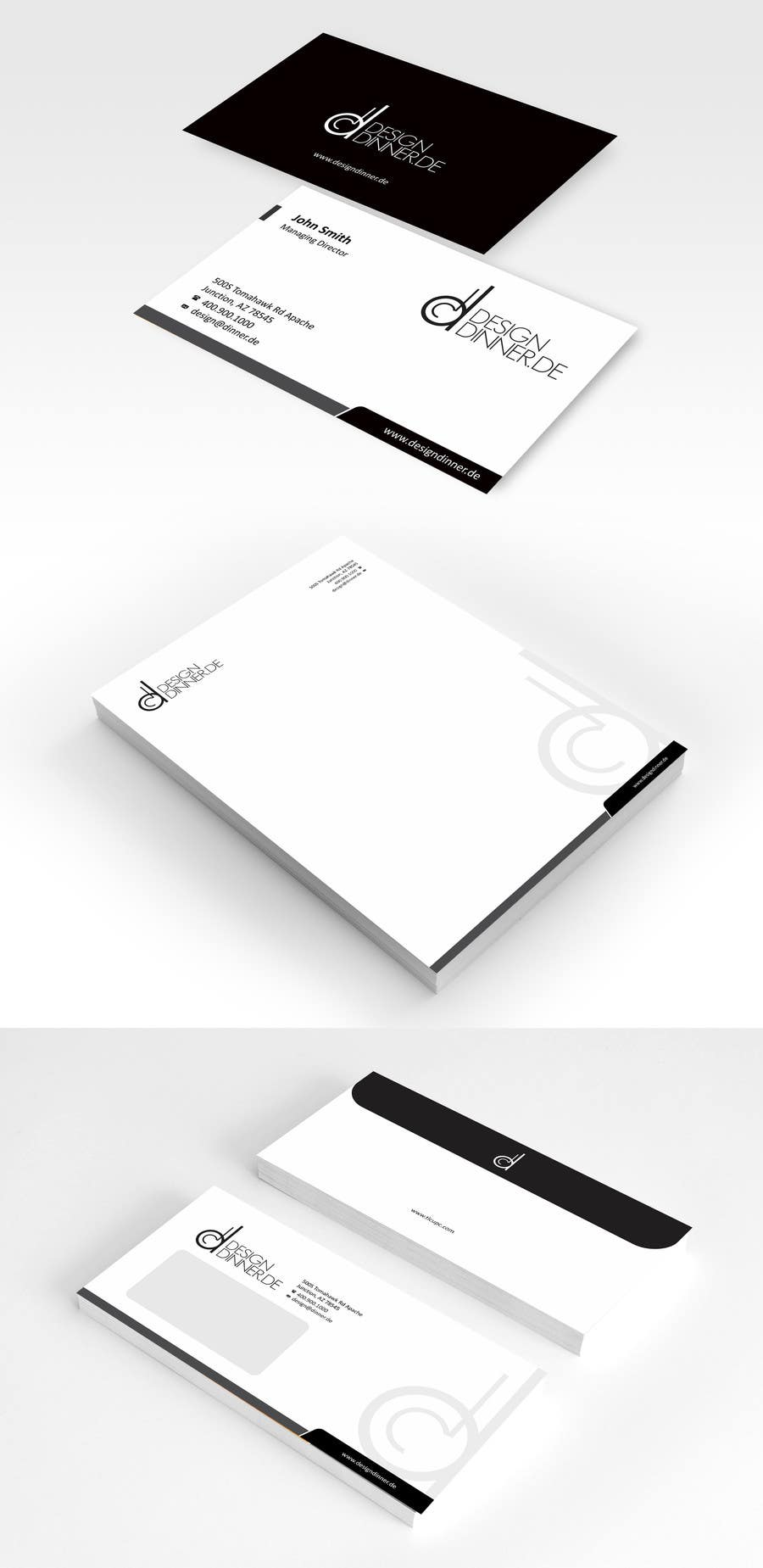 #6 for Create Business set (Paper, Business Cards,..) for Company by ezesol