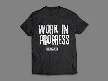 alizahoor001 tarafından Design a T-Shirt - Philippians 1:6 için no 44