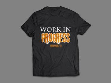 alizahoor001 tarafından Design a T-Shirt - Philippians 1:6 için no 58