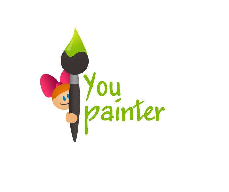 #26 for Logo for kids paintings/sketches gallery (web-site) by Artnetta