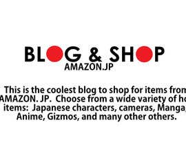 nº 24 pour Blog name Description for Amazon.jp affiliate blog in English - SEO title par Othello1