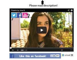 #79 for Design Facebook Like Button For Widget - To Be Seen by Millions! af BonusGratis