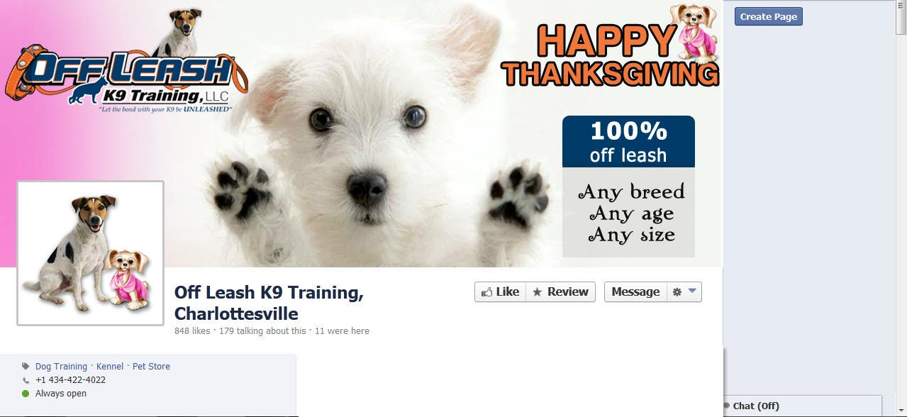 Proposition n°23 du concours Thanksgiving Facebook Banner and Profile Pic