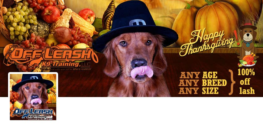 #25 for Thanksgiving Facebook Banner and Profile Pic by cristinacroitoru