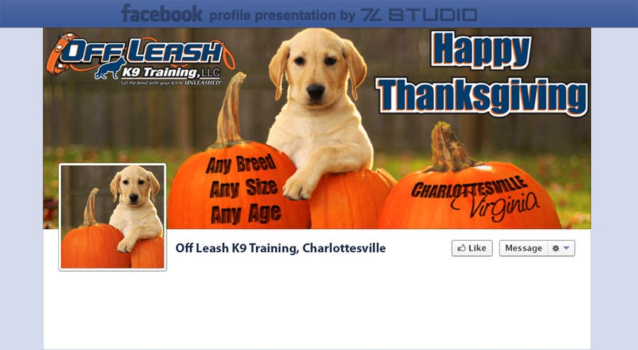 #6 for Thanksgiving Facebook Banner and Profile Pic by Studio7L