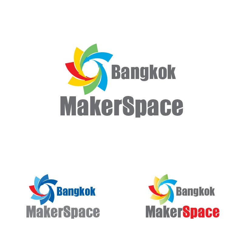 #49 for Design a Logo for a new MakerSpace in Bangkok by wahwaheng