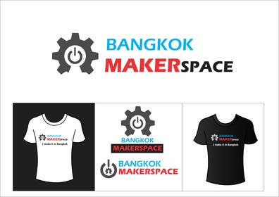 #51 for Design a Logo for a new MakerSpace in Bangkok by ArtCulturZ