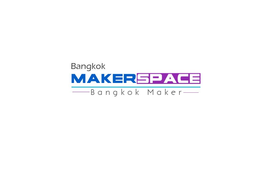 Proposition n°28 du concours Design a Logo for a new MakerSpace in Bangkok