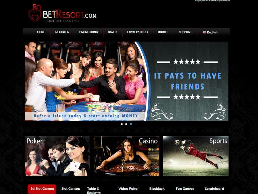 Inscrição nº 49 do Concurso para Design a Banner for an Online Casino