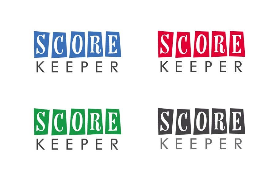 Contest Entry #28 for Design a Logo for ScoreKeeper