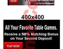 #10 for Table Games Banner for an Online Casino by angelina82