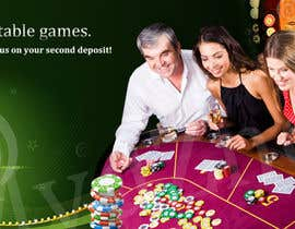#5 for Table Games Banner for an Online Casino by mydZnecoz