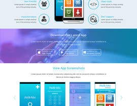 Nro 8 kilpailuun Website for Clinic Information App käyttäjältä ravinderss2014