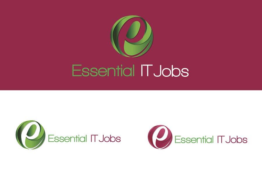 #93 for Logo Design for EssentialITJobs.ch by fouziaali22