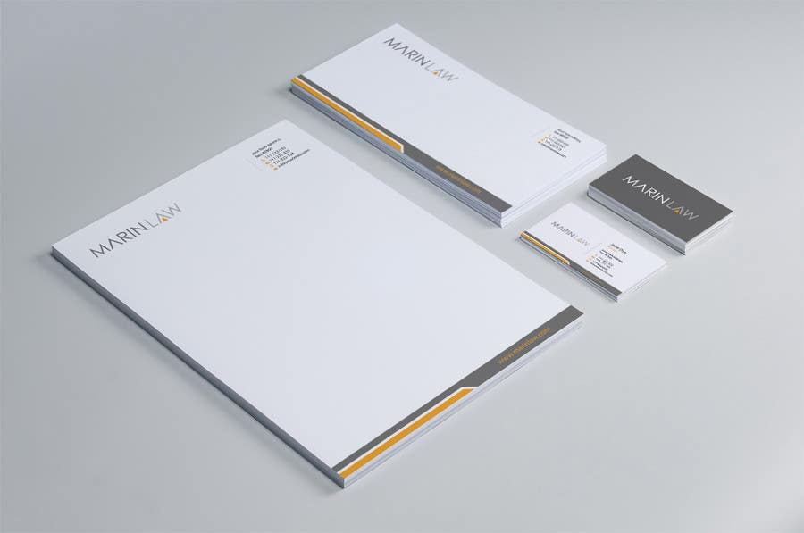 #20 for Design some Stationery for Legal Practice by HammyHS