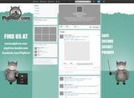 Contest Entry #9 for Design a Twitter background for pigdrive.com