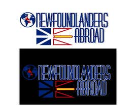 "Nro 4 kilpailuun Design a Logo for an international group called ""Newfoundlanders Abroad"" käyttäjältä Goodintentions11"