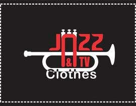#52 for Logo design for Jazz & Tv Clothes by itcostin