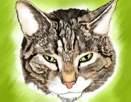 Nro 40 kilpailuun Make An Illustration (Vector or Hand Drawn) of My Cat käyttäjältä a25126631