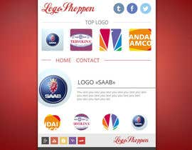 #5 para Build a single page Website, logoshoppen.se por AndyBag