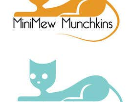 #23 for Design a Logo for MiniMew Munchkins af fouziaali22