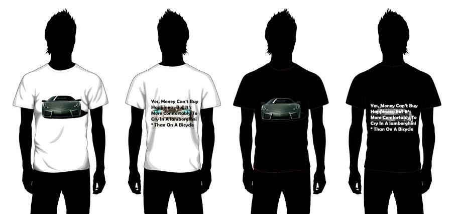 #2 for Design en T-Shirt for Car fans! by karim1409