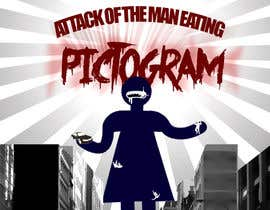 nº 14 pour Attack of the man eating pictogram! par vishnuremesh