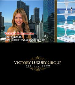 #14 for Design some Business Cards for Victory Luxury Group by moilyp