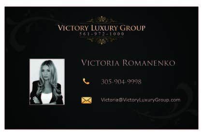 #23 for Design some Business Cards for Victory Luxury Group by stniavla