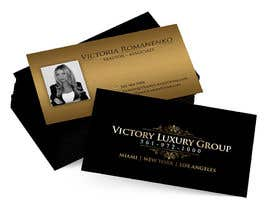 #24 untuk Design some Business Cards for Victory Luxury Group oleh anacristina76