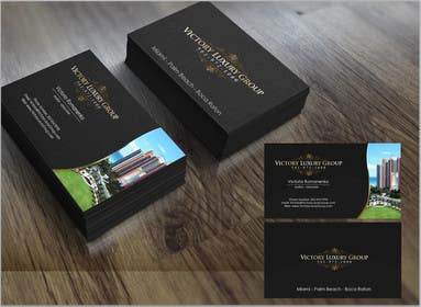#20 for Design some Business Cards for Victory Luxury Group by marcelog4