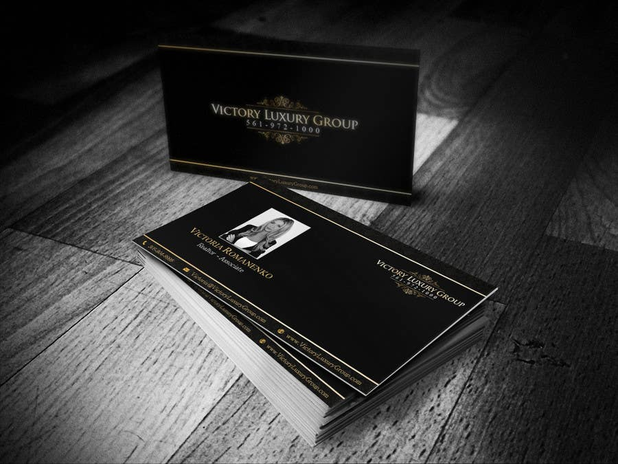 #18 for Design some Business Cards for Victory Luxury Group by ibhet