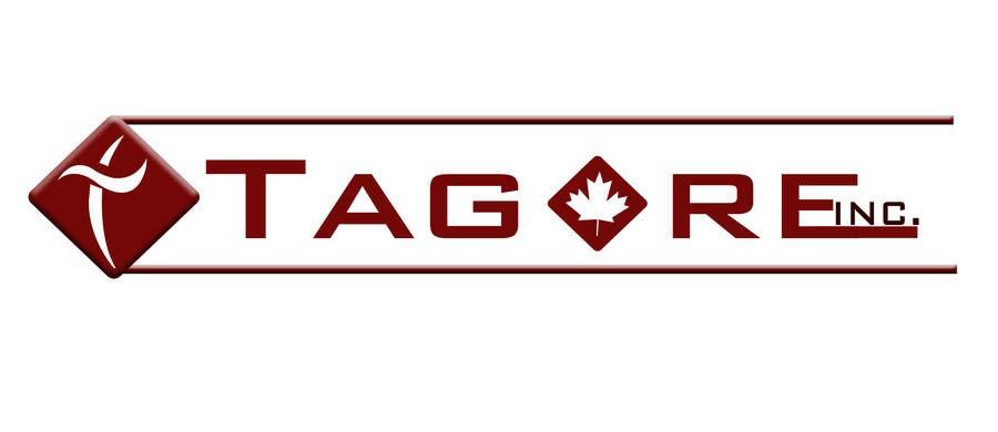 Proposition n°                                        56                                      du concours                                         Design a Logo for Tagore Inc.