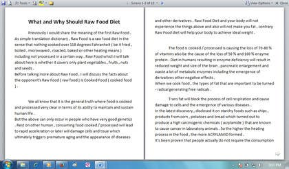#6 for Write some Articles for Rawfood / Detox by evanuril