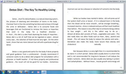 #7 for Write some Articles for Rawfood / Detox by evanuril