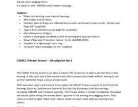 Nro 9 kilpailuun Rewrite Product Descriptions käyttäjältä collincarnjeri