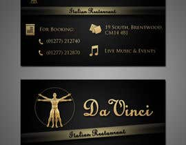 #8 untuk Design some Business Cards for Italian restaurant oleh stniavla