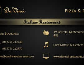 #10 for Design some Business Cards for Italian restaurant af stniavla